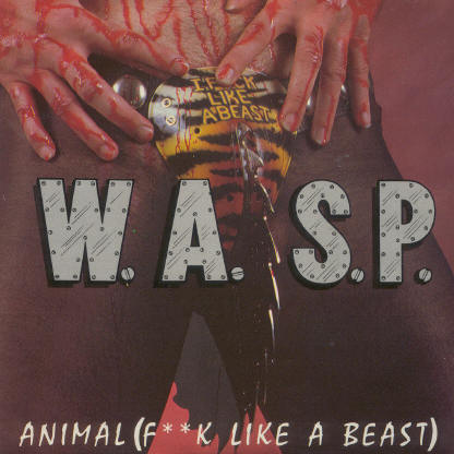 Wasp released a vhs of all videos