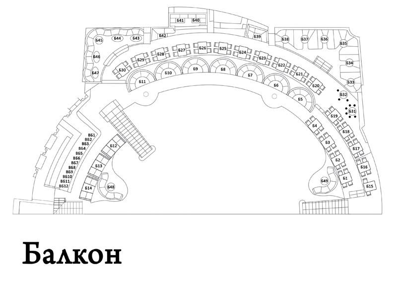 Схема зала PALLADIUM Схема