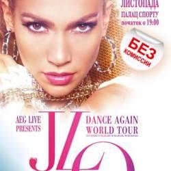 Jennifer Lopez в Дворец Спорта, Киев, Вторник, 13 Ноября 2012. Афиша